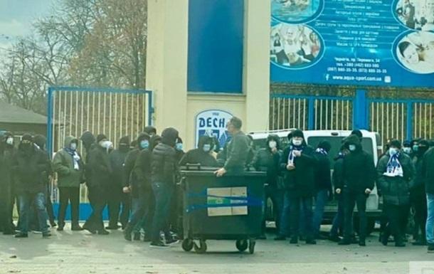 Десна відреагувала на скандал з керівником стадіону