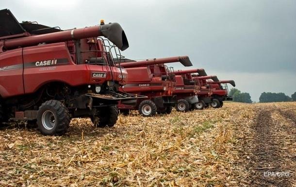 Украина собрала самый маленький по три года урожай