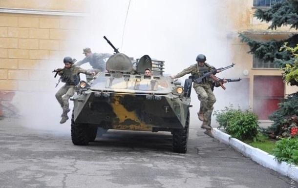 Во Львове начинаются антитеррористические учения