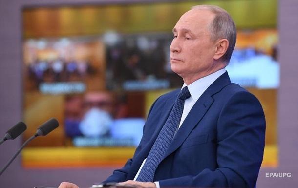 Путин пообещал наращивать 'поддержку Донбасса'