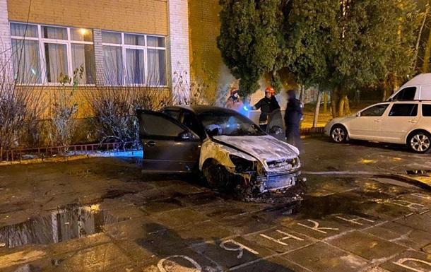 Во Львове сожгли авто детектива НАБУ