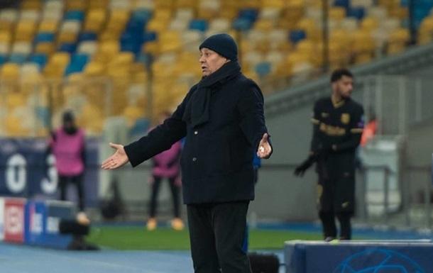 КДК УАФ наказал Луческу за выход в центр поля в матче УПЛ