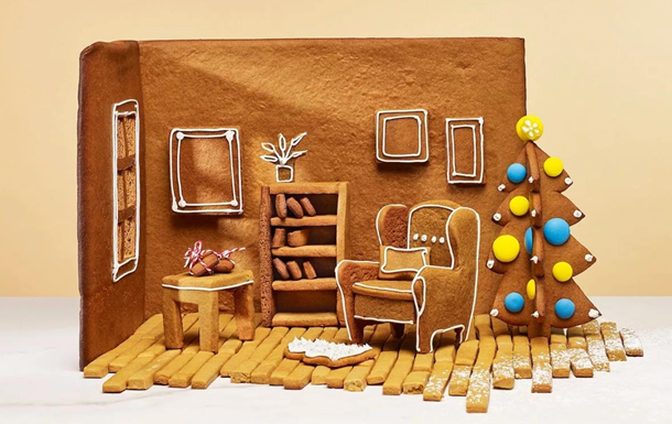 IKEA разработала специальные инструкции по сборке пряничных домиков