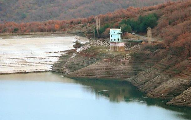 Опубликованы фото мелеющего водохранилища Крыма