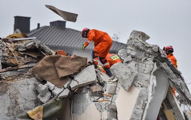 В Польше взорвался жилой дом, есть погибшие