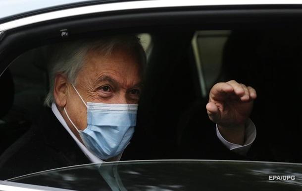 Президенту Чили выписали штраф за нарушение масочного режима