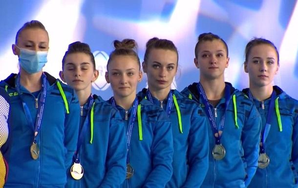 Українські гімнастки вперше в історії виграли чемпіонат Європи