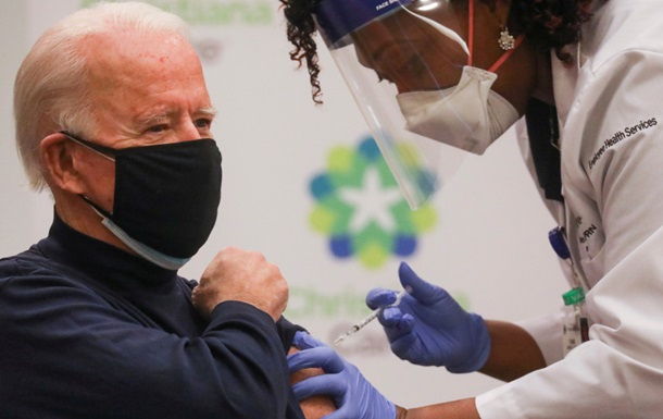 Байден сделал прививку против коронавируса