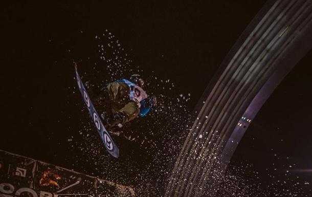 Український сноубордист зробив неймовірний стрибок