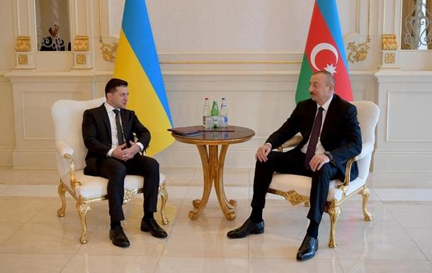 Зеленский пригласил Алиева в Украину