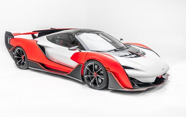 В McLaren представили скоростной гиперкар