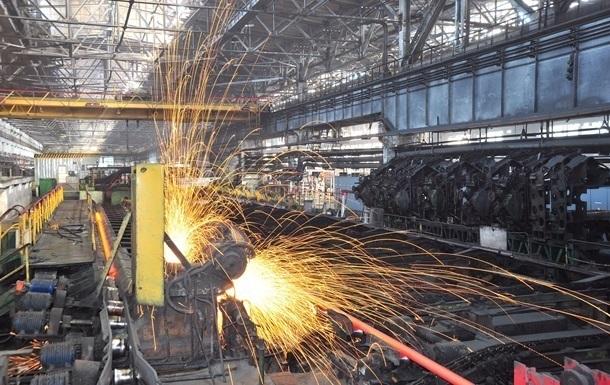 В Украине сократилось падение промпроизводства