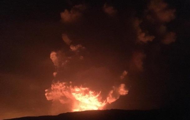 Виверження вулкана Кілауеа: червоне небо над Гаваями
