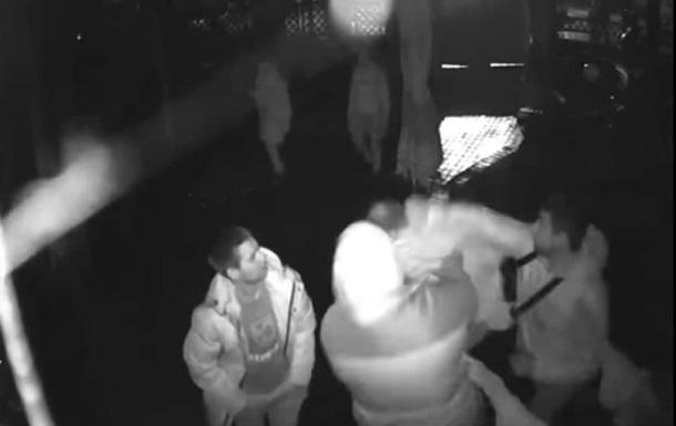 Появилось видео убийства военного в Новой Каховке