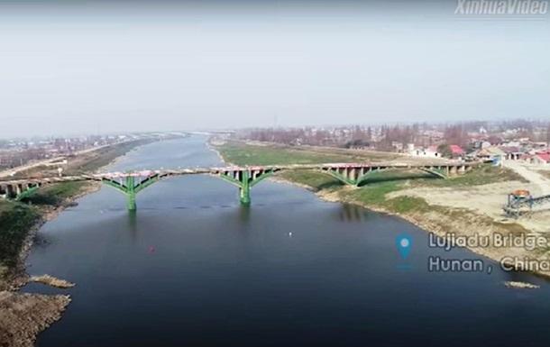 У Китаї підірвали міст з вичерпаним терміном експлуатації
