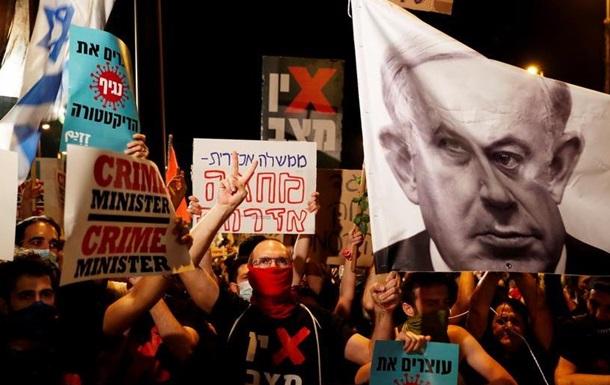 В Ізраїлі знову протестували проти Нетаньяху