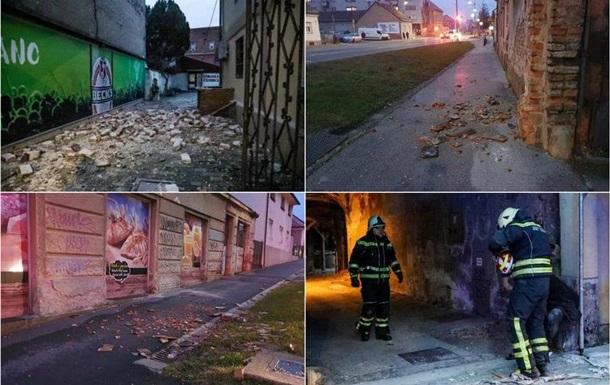 У Хорватії стався сильний землетрус