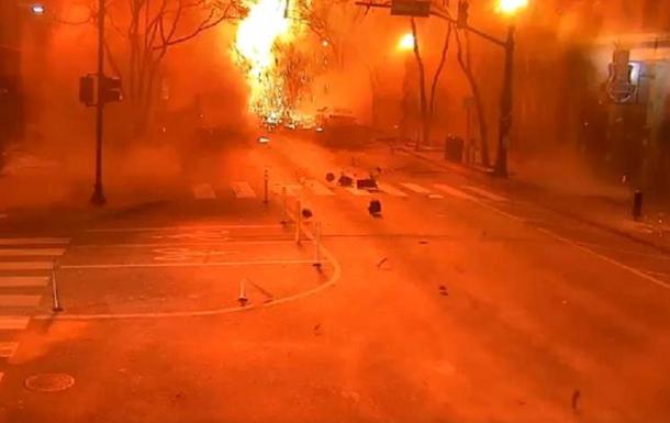 Момент взрыва в Нэшвилле попал на видео