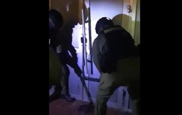В Житомире полиция штурмовала игорные заведения