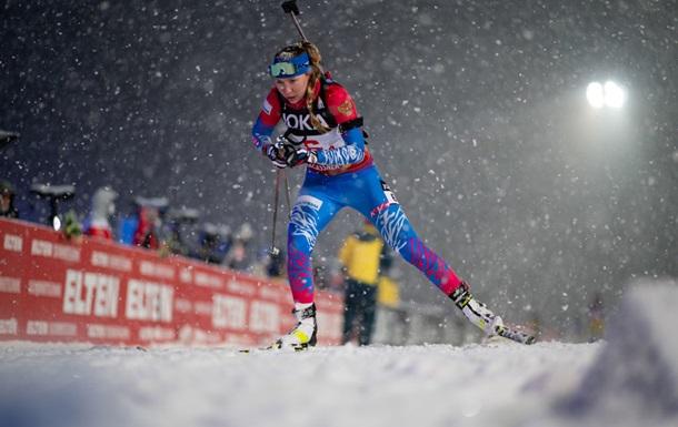 Биатлон: Павлова и Елисеев выиграли Рождественскую гонку, украинцы - девятые