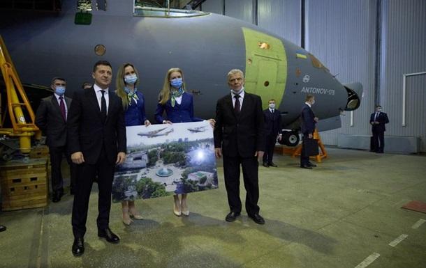 Минобороны заказало у завода Антонов три самолета Ан-178