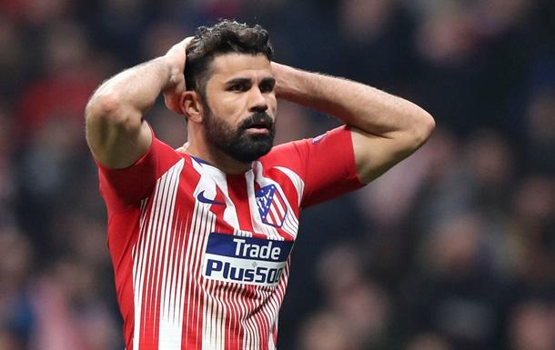 Атлетико разорвал контракт с Диего Костой