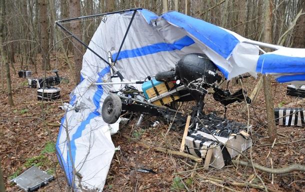 В Польше разбился дельтаплан с контрабандой из Украины