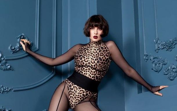MARUV снялась в пикантном леопардовом комплекте