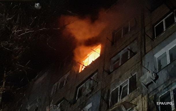 В Кропивницком горела жилая девятиэтажка, есть пострадавшие