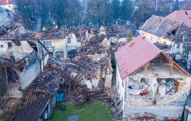 В Хорватии землетрясение повредило тюрьму с украинцами