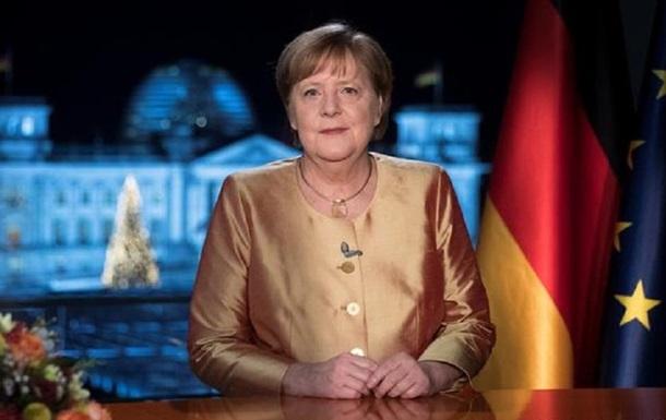 Меркель выступила с последним в качестве канцлера обращением