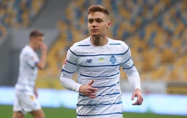 Циганков - кращий футболіст Динамо у 2020 році