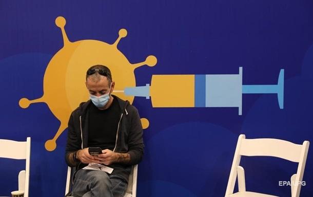 Израиль вакцинировал от коронавируса 10% населения