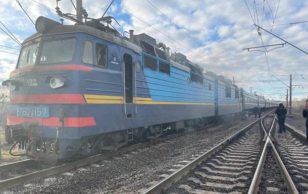 У Рівненській області на ходу загорівся пасажирський потяг