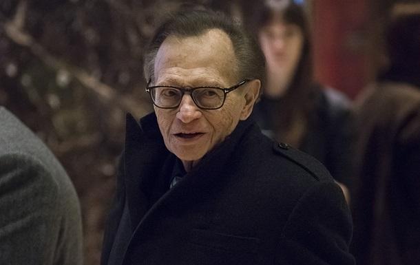 Ларри Кинга госпитализировали с коронавирусом