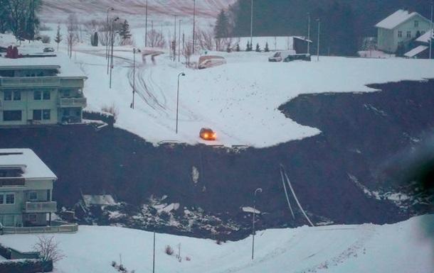 Зсув у Норвегії: рятувальники знайшли п ять загиблих