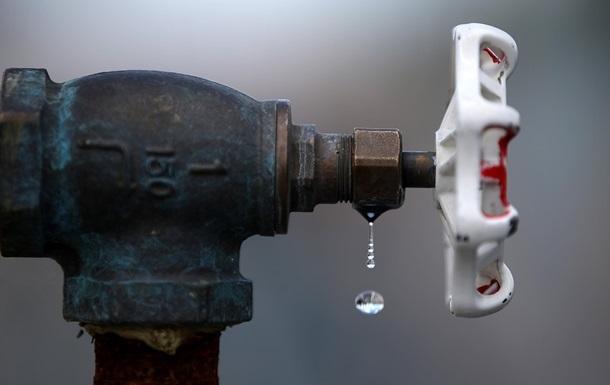 Части киевлян повысили тарифы на холодную воду
