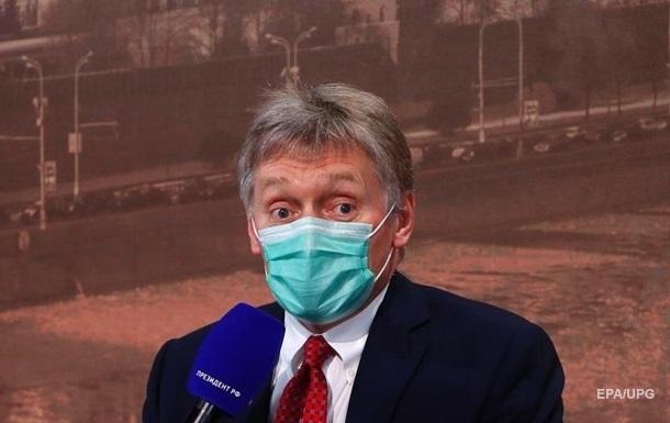 Пєсков заявив, що Україна пішла за  червоні лінії