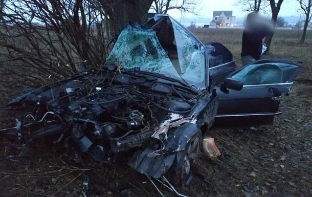 Под Николаевом разбился насмерть патрульный на BMW