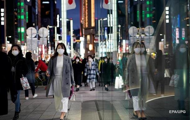 В Японії виявлено рекордну кількість COVID-випадків за добу