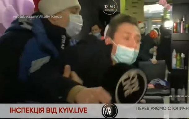 Журналіста виштовхали із салону краси в прямому ефірі