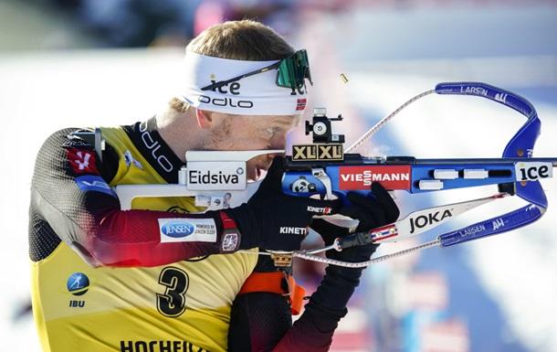 Биатлон: Норвежцы заняли весь подиум, Прима - лучший из украинцев в спринте в Оберхофе