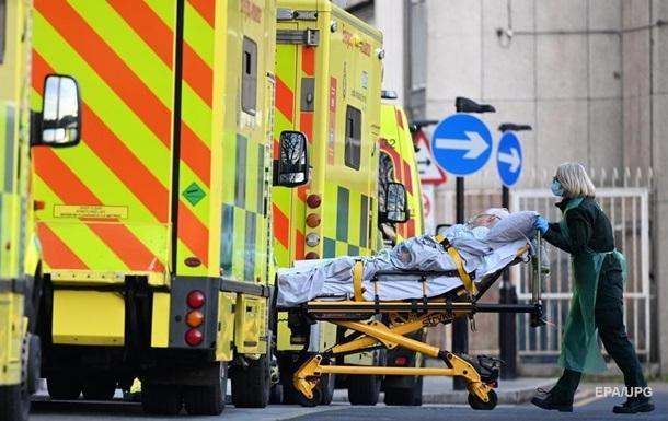 У Британії за добу - найбільша кількість померлих від коронавірусу