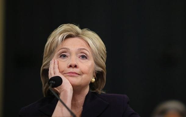 Клинтон  галочкой  отреагировала на удаление аккаунта Трампа из Twitter
