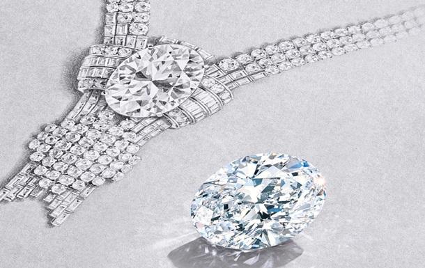 Tiffany & Co. оновить легендарне кольє, купивши діамант вагою 80 каратів