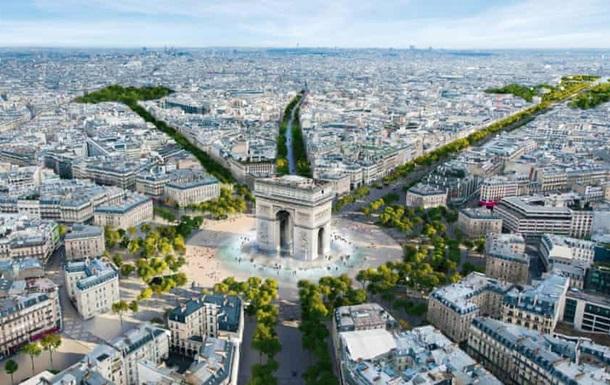Вместо Елисейских полей в Париже создадут  необыкновенный сад