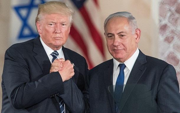 Нетаньяху прибрав з обкладинки в Twitter спільне фото з Трампом