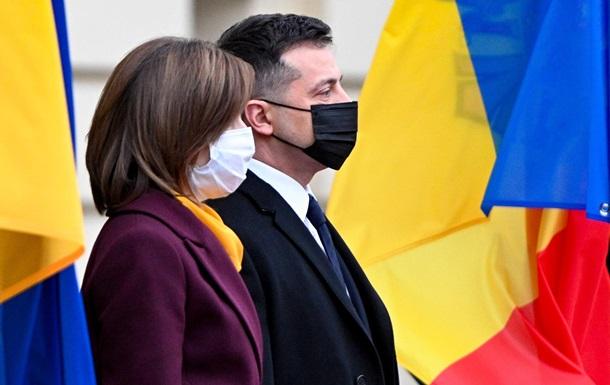 Зеленский: Санду не боится назвать Крым украинским