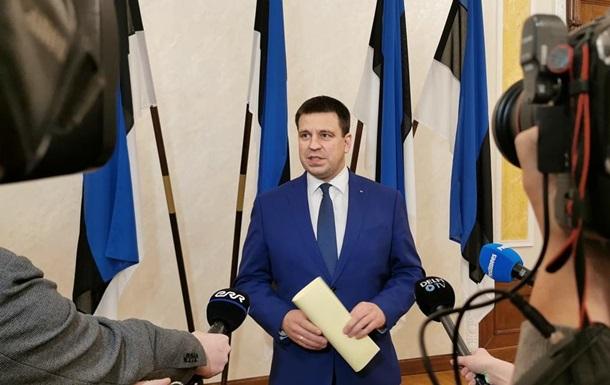 Премьер Эстонии объявил об отставке на фоне коррупционного скандала