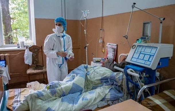 COVID в Киеве: 864 пациентов в тяжелом состоянии